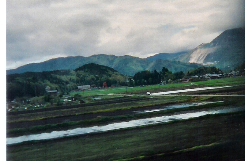 View the countryside from the shinkansen on your first trip to Japan.