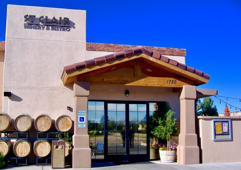 Where to get a good French Dip in Las Cruces: the St Clair Winery & Bistro in Mesilla.