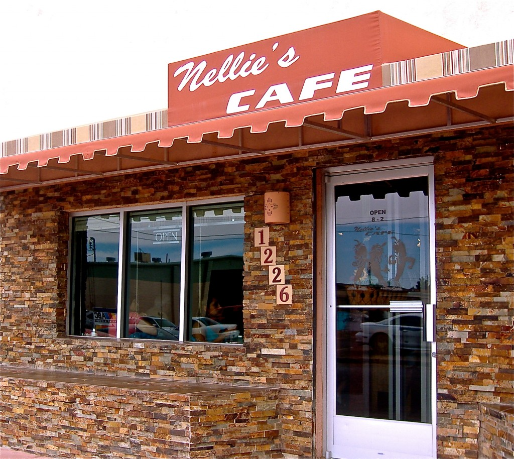 Nellie's Cafe in Las Cruces, NM.