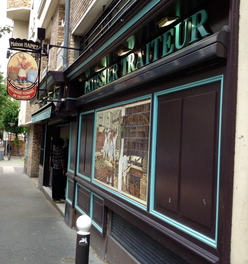Exterior, Maison Haimet in Paris.
