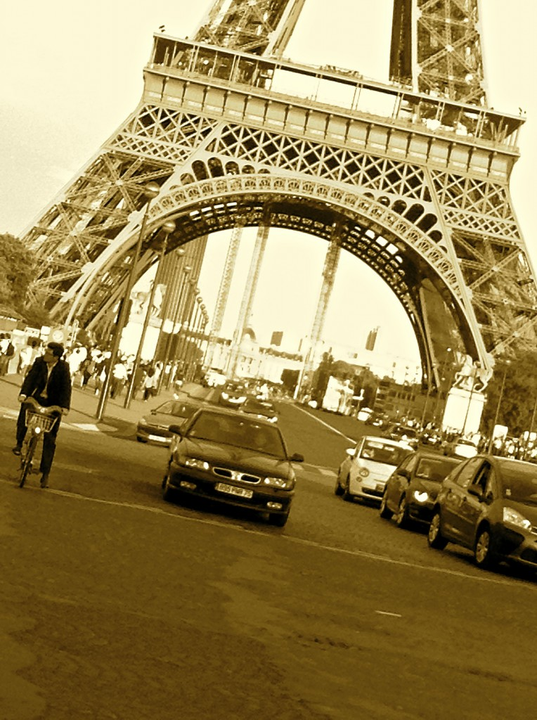 The Eiffel Tower is, literally, at the center of Parisian life.