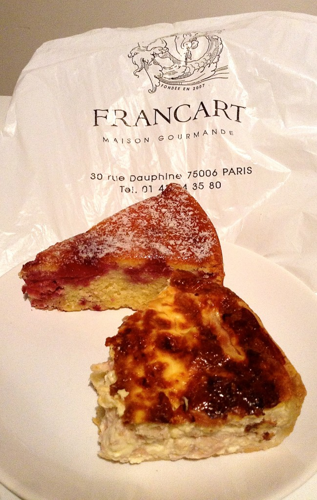 Sweet & savory pastries from Francart, one of the fun finds in unexpected Paris.