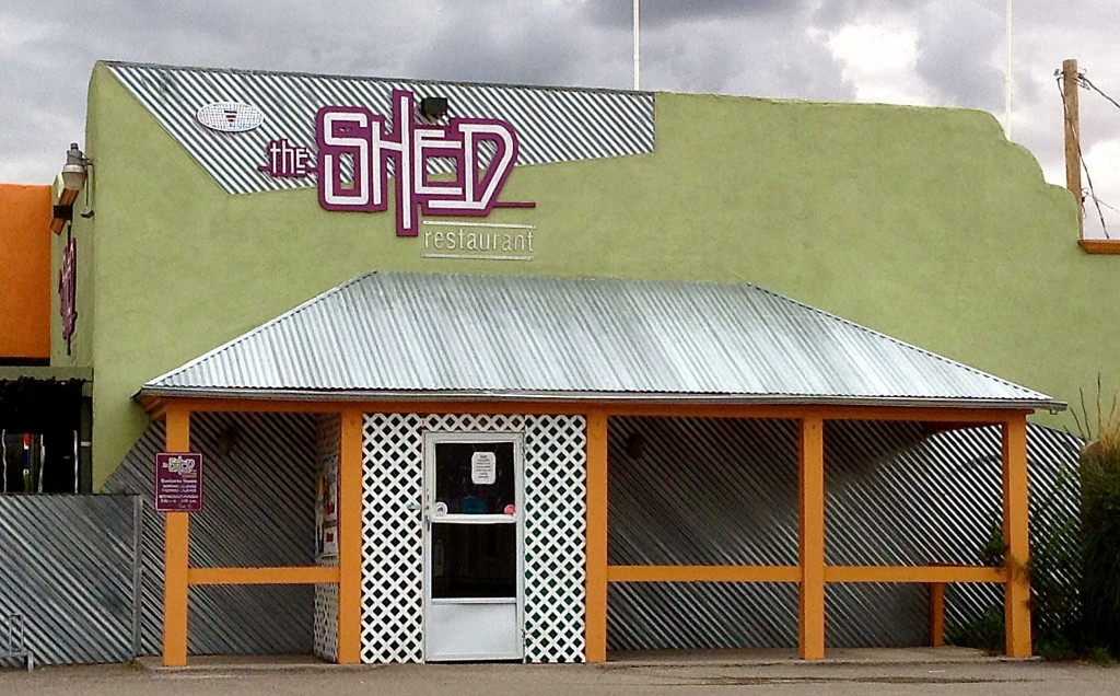 Exterior photo, for the Shed in Las Cruces review.