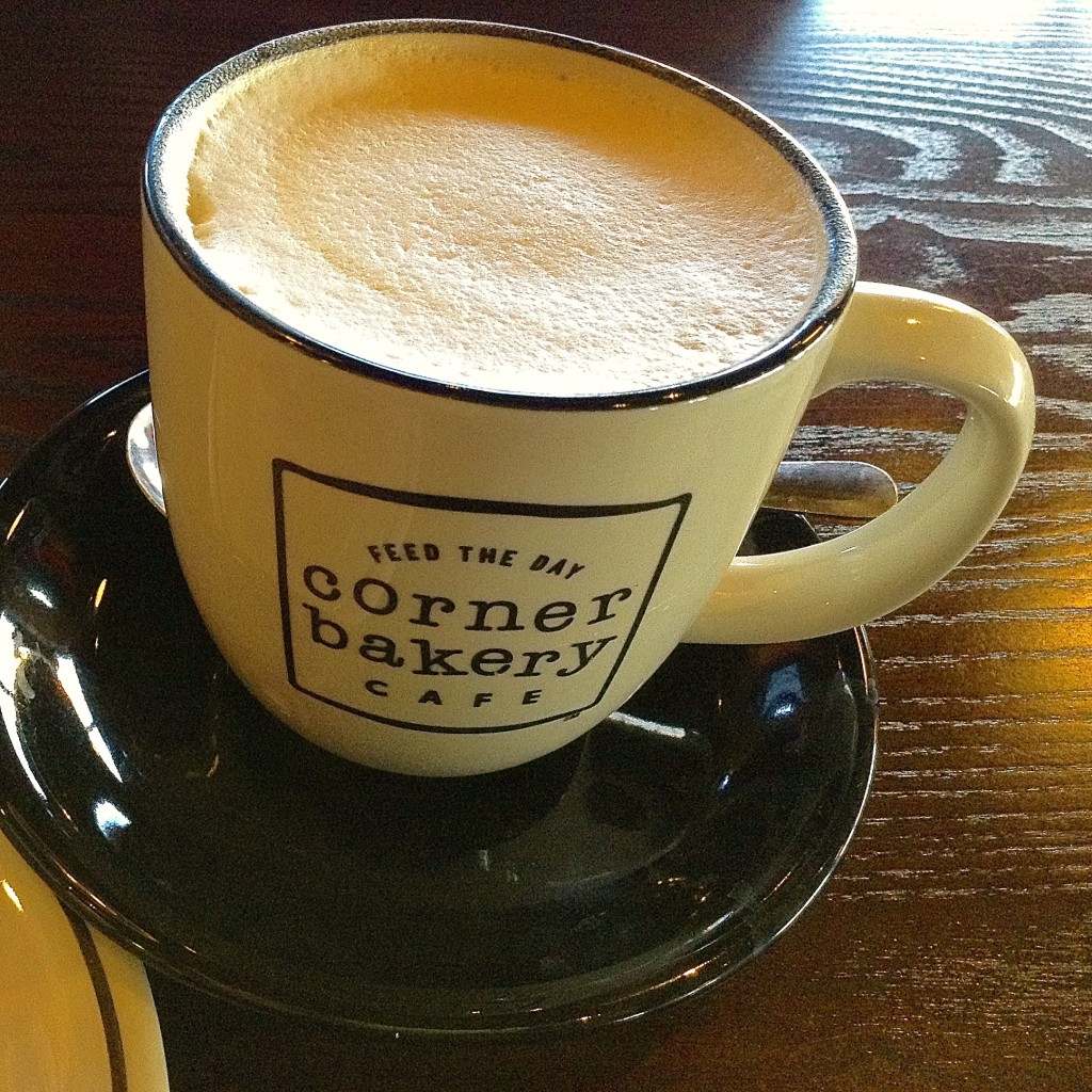 Cappuccino, enjoyed with pleasure for Corner Bakery Cafe in Las Cruces review.