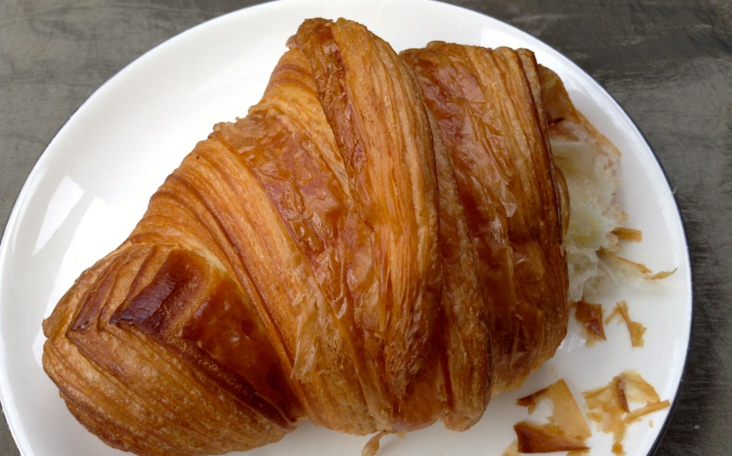 A real good croissant @ Belle Sucre in El Paso.