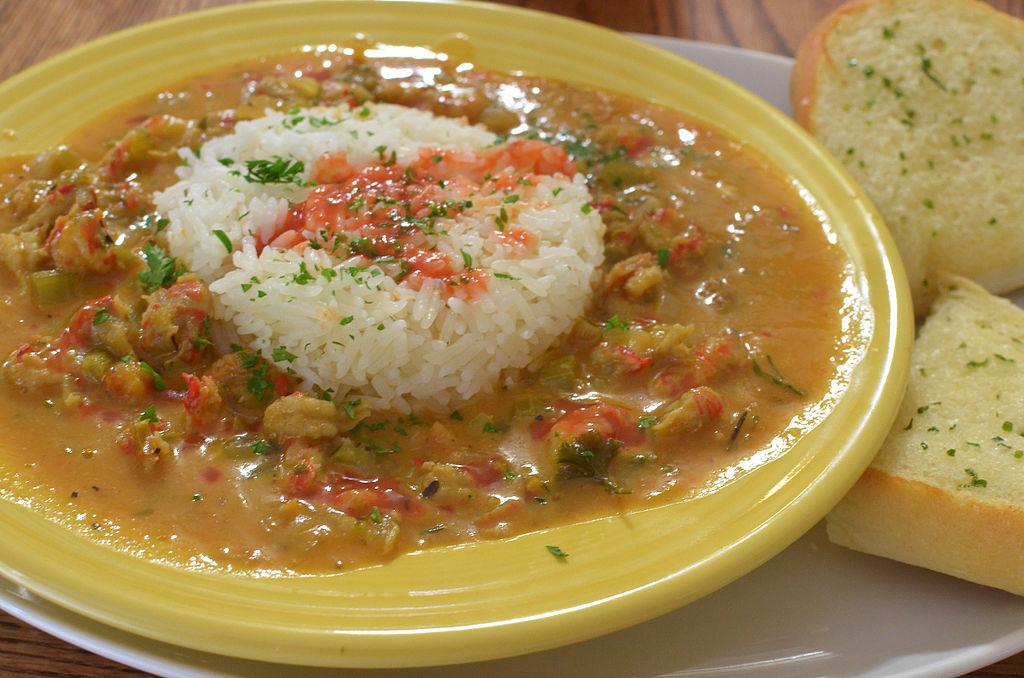 Smothered and sensational Crawfish Étouffée.