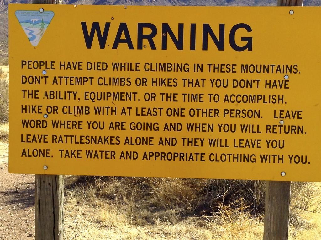 Enjoy your climb!