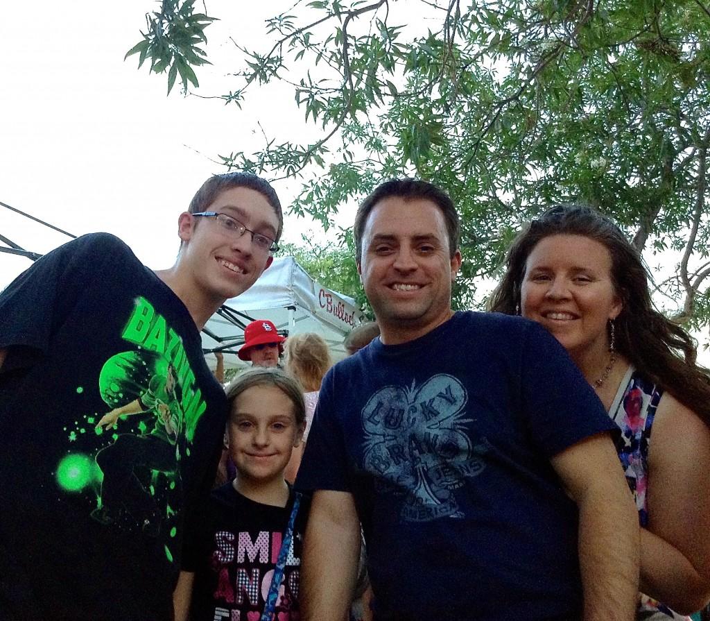 Candice, Braden & Family