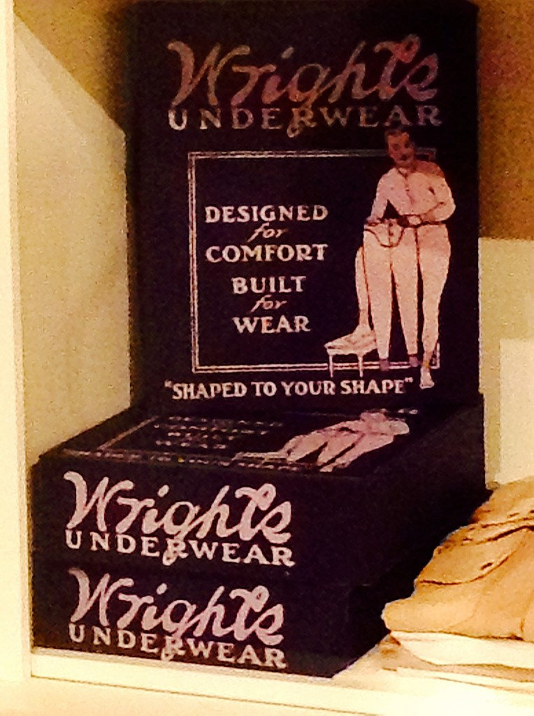 Vintage underwear, a vital (AND COMFY, I hope!) part of New Mexico's cultural past.