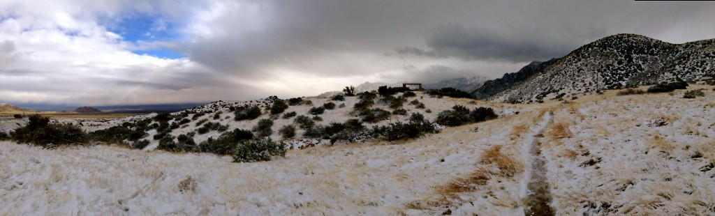 Panoramic view from San Augustin Pass.
