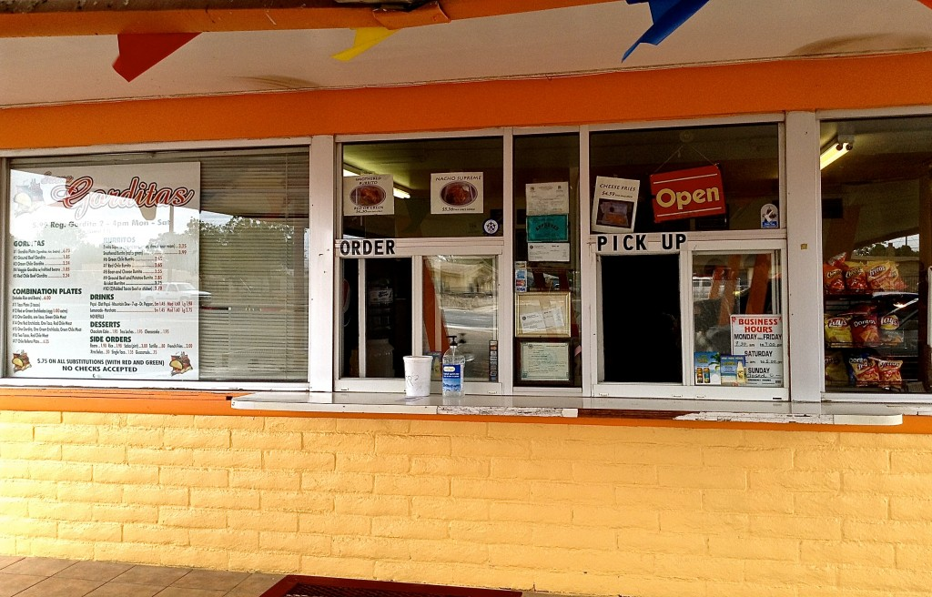 Where to find your fabulous Saenz Gorditas: 1700 N Solano Dr, Las Cruces, New Mexico.