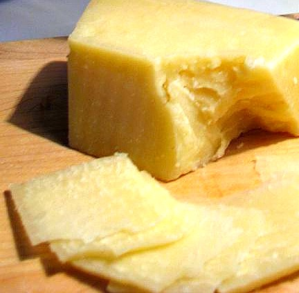 Pecorino Romano cheese is a tangy taste of Rome; photo by Deanna from Chicago 'burbs.