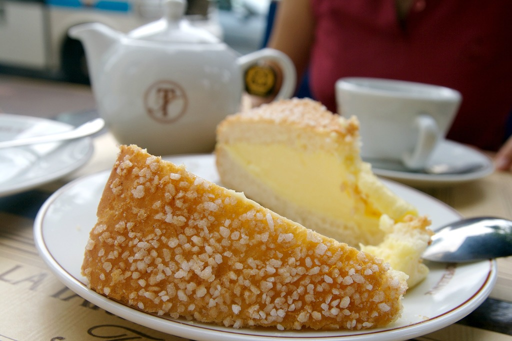 What's a French pastry tour without butter? Image: Tarte Tropezienne by Matteo Castelli.