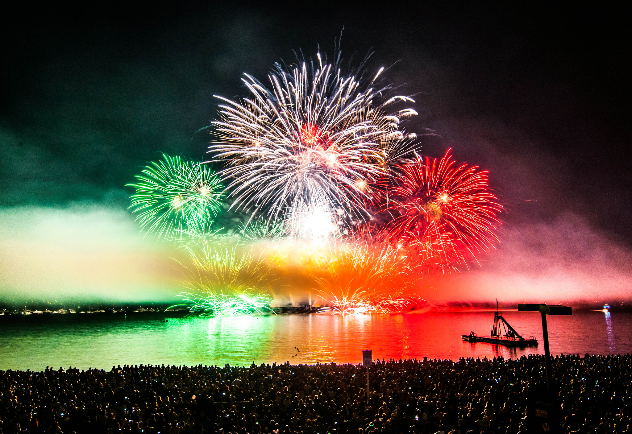 Serve Italian sweets for your next special occasion. Fireworks, Celebration of Lights-Italy by colink.