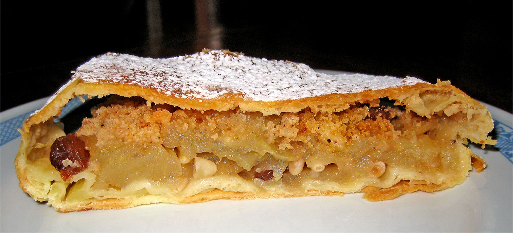In the alpine region of Trentino-Alto Adige, strudel is one of the most popular Italian sweets... natch. Strudel by fugzu.