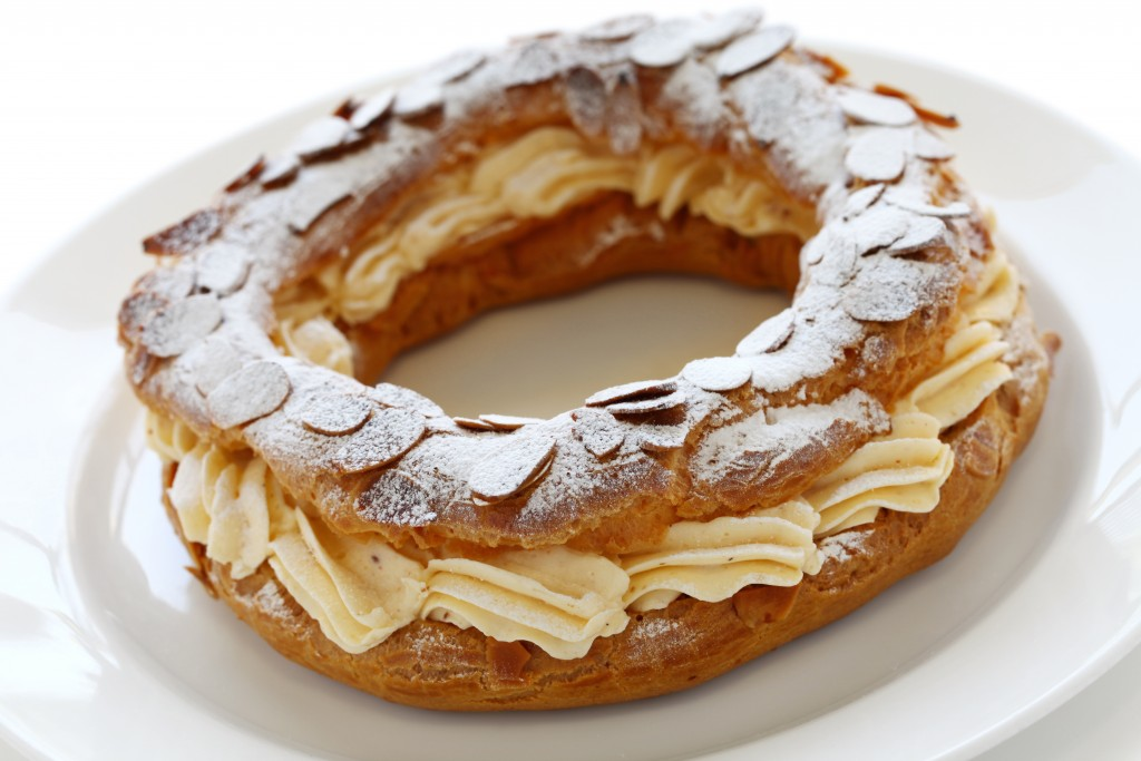 Paris-Brest, (a classic) French dessert (and exquisite French pastry), photo by uckyo.