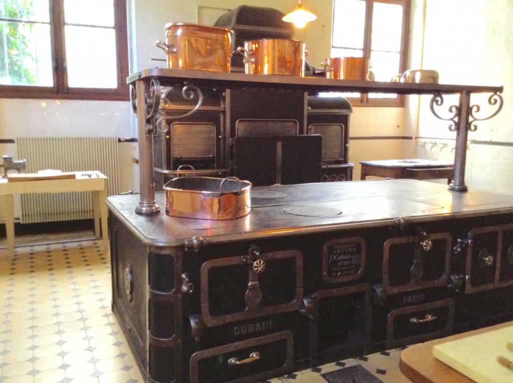 Cubain & Sons range oven in kitchen of the Musée Nissim de Camondo in Paris off the beaten path.
