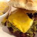 Green Chile Cheeseburger @ Sparky's in Hatch, NM.