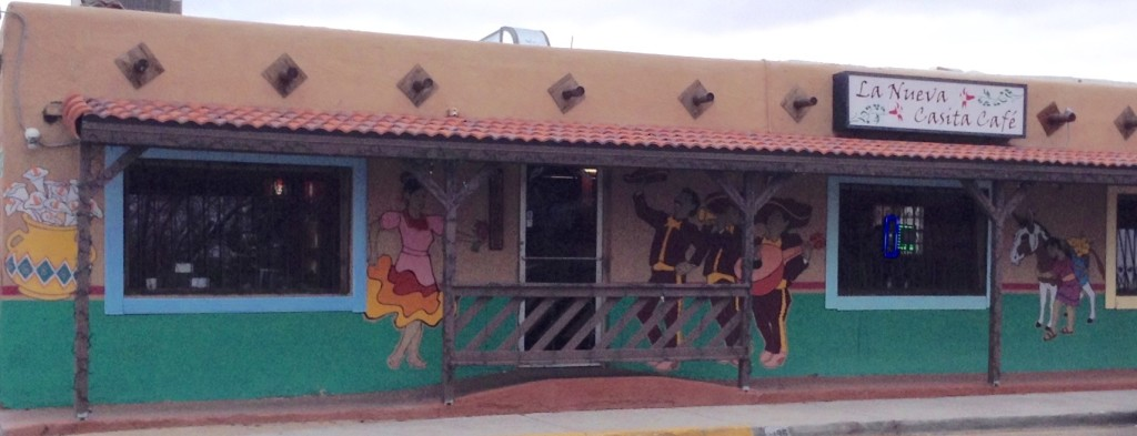 La Nueva Casita Cafe (exterior) in Las Cruces, NM (for La Nueva Casita review).