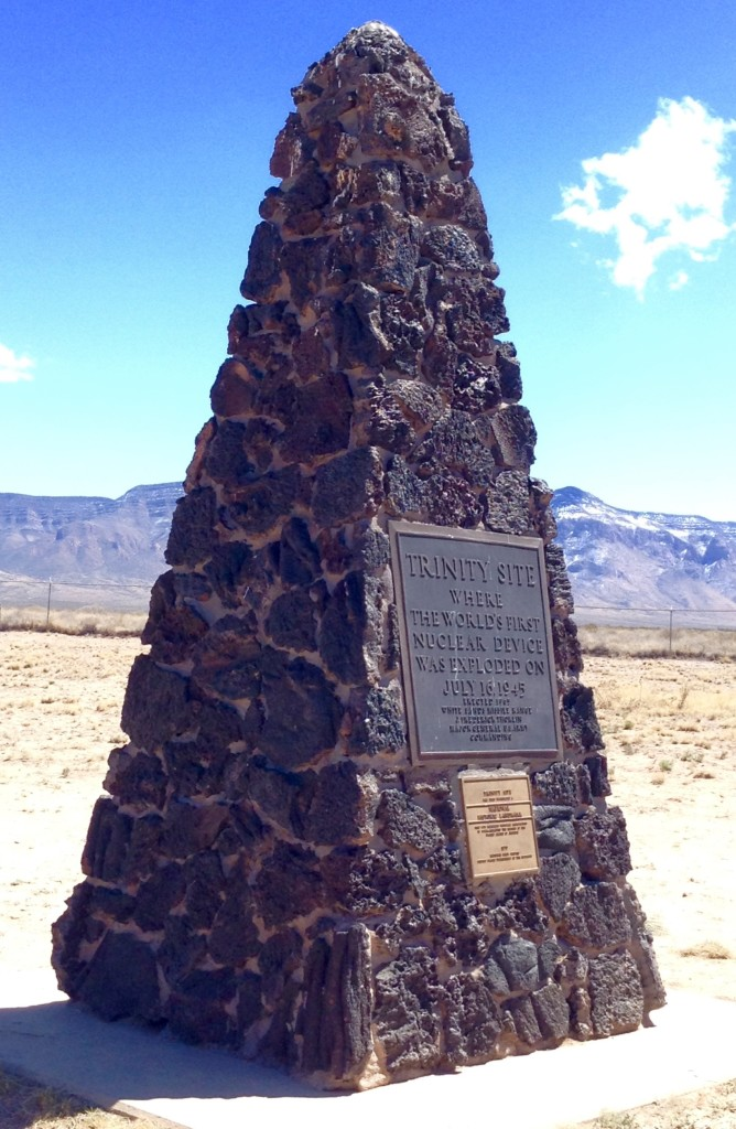 Trinity Site Ground Zero Obelisk, Trinity Site Open House.