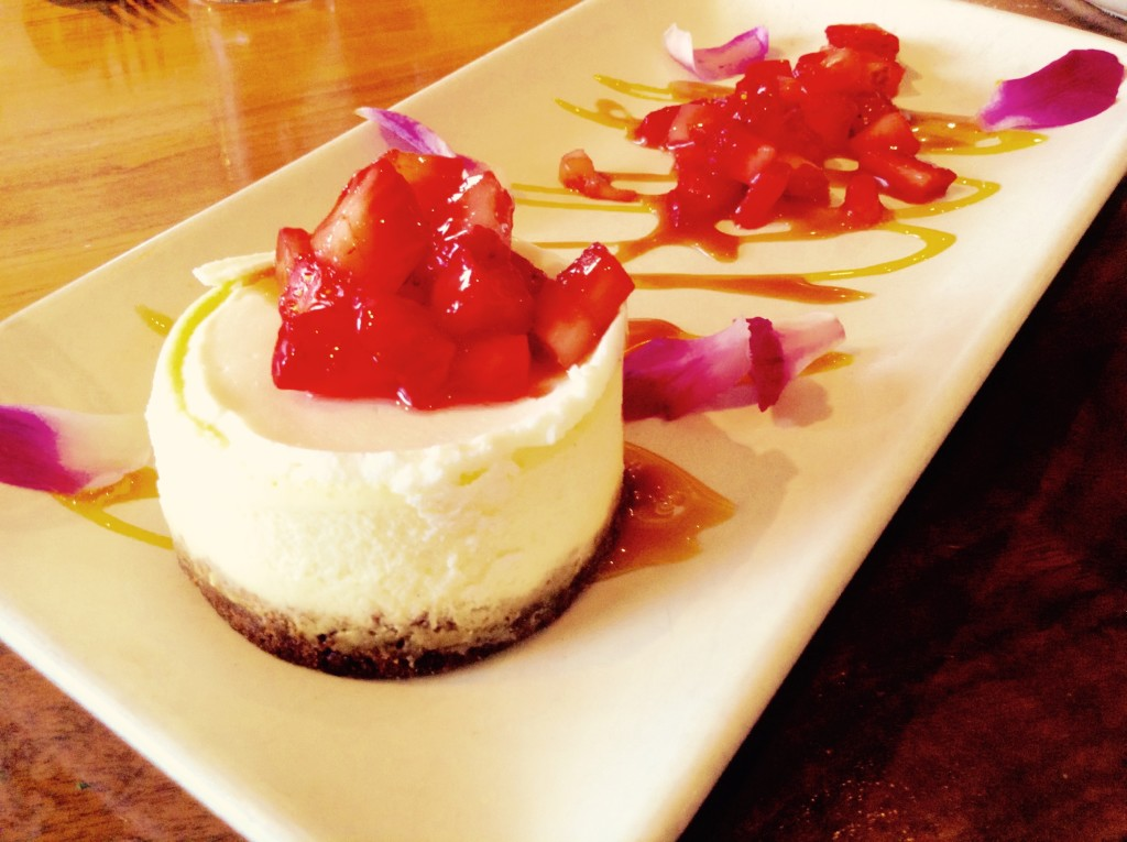 Cheesecake, The Barrel House, Sausalito ~ sweet surprise from one of 5 (+1)Northern California places to eat GOOD food.