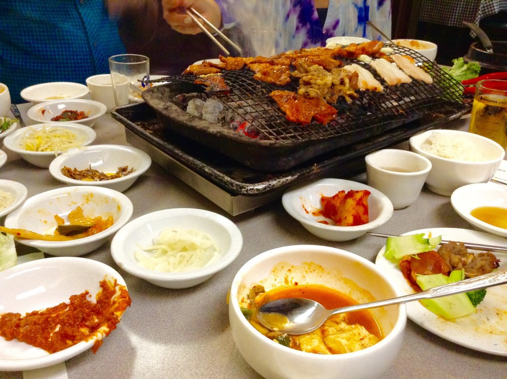 Wooden Charcoal Korean Barbecue House in San Francisco, one of 5 (+1) Northern California places to visit.