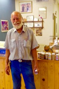Jim Hawman, founder of The Truck Farm, home of the world's best sweet hot chile peppers.