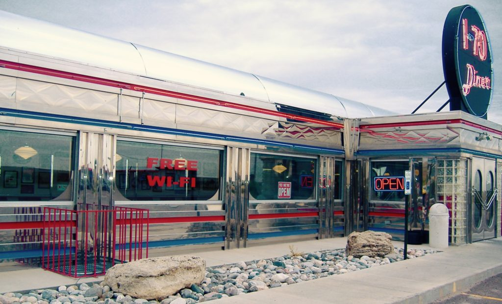 Ultimate 50 39 s retro diner in colorado melodie k for 50 s diner exterior