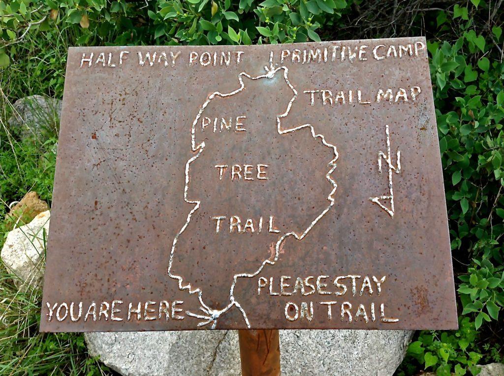 Pine Tree Trail Map