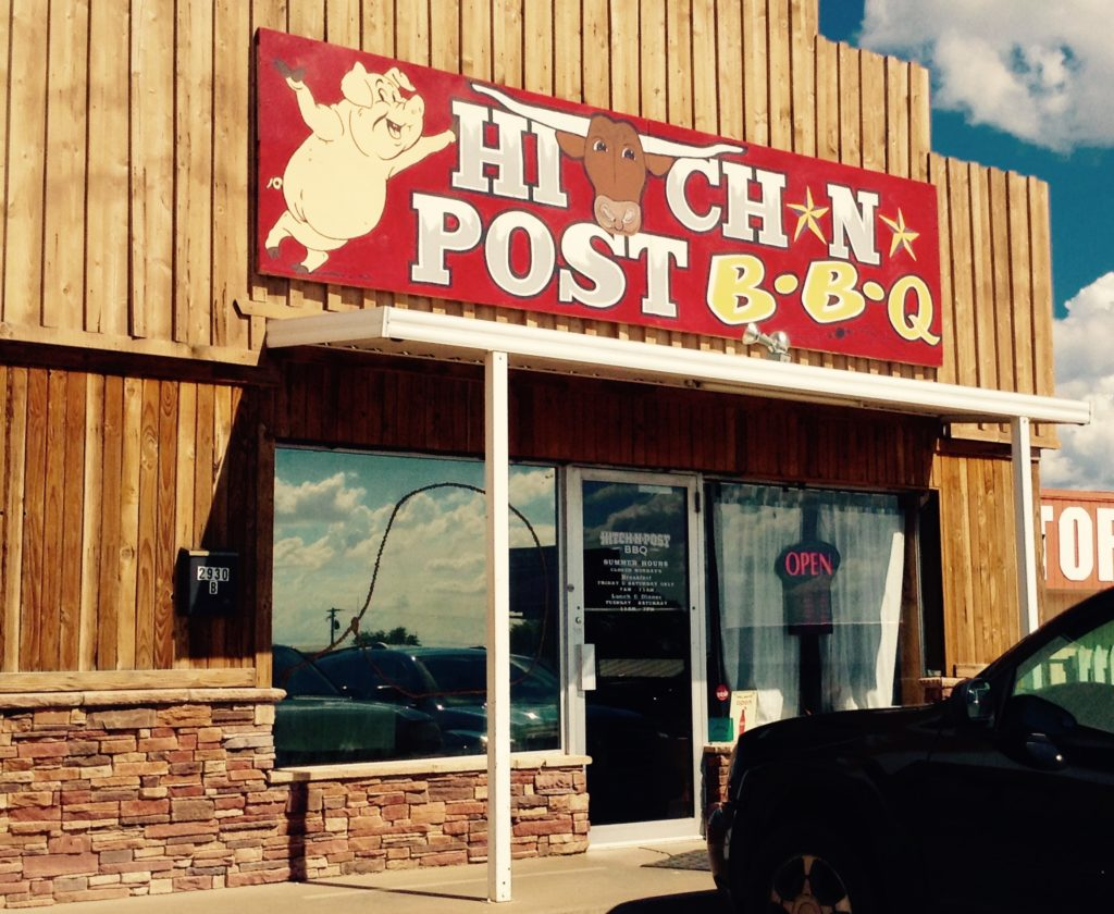 Hitch N Post BBQ, the Alamogordo cowboy BBQ for HUNGRY people.