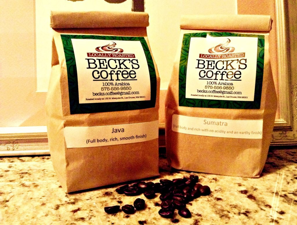 You can have Beck's crazy good coffee at home, too.