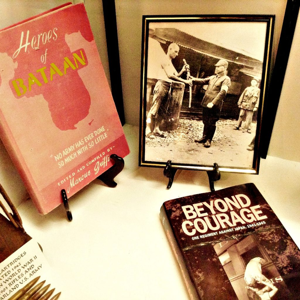 The New Mexico history tour at the Deming Luna Mimbres Museum features books about the Bataan Death March.