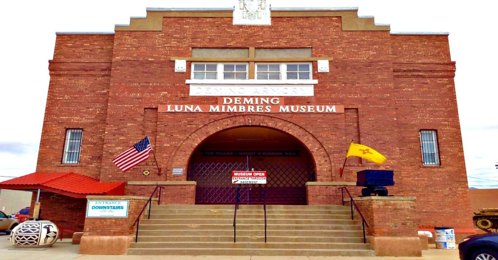 Welcome to the Deming Luna Mimbres Museum in Deming, NM: the New Mexico history museum in Southern New Mexico.