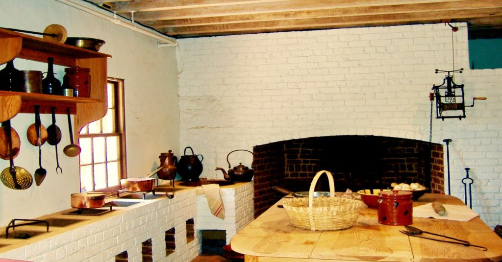 The Monticello kitchen prepared food for many kinds of events but never, I imagine, for a cowboy festival.