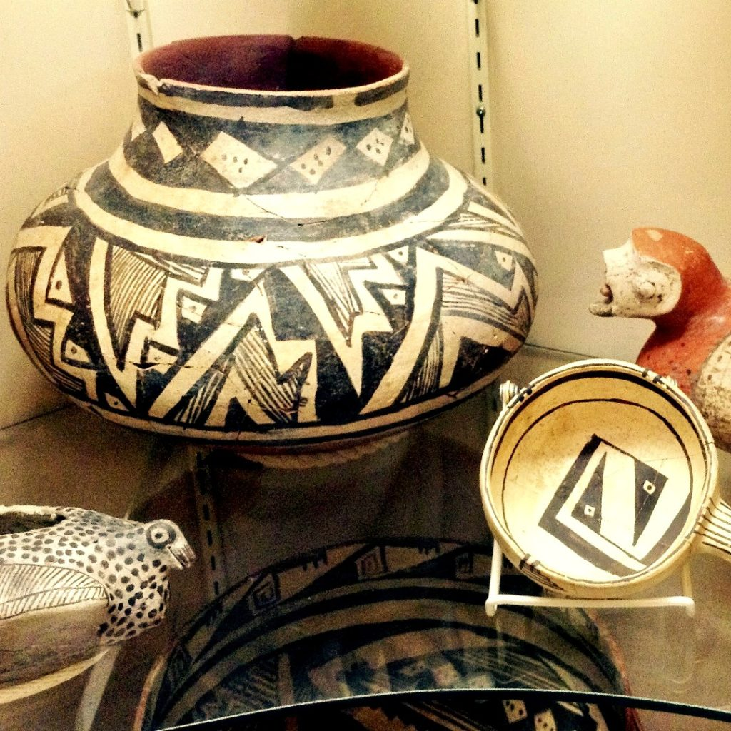 No New Mexico history tour would be complete without Mimbres pottery.