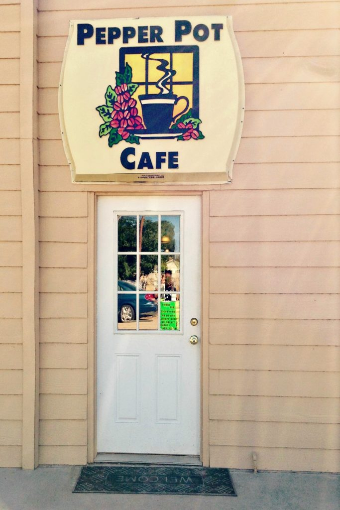 Welcome to The Pepper Pot Cafe, a good Mexican restaurant in Hatch, New Mexico.