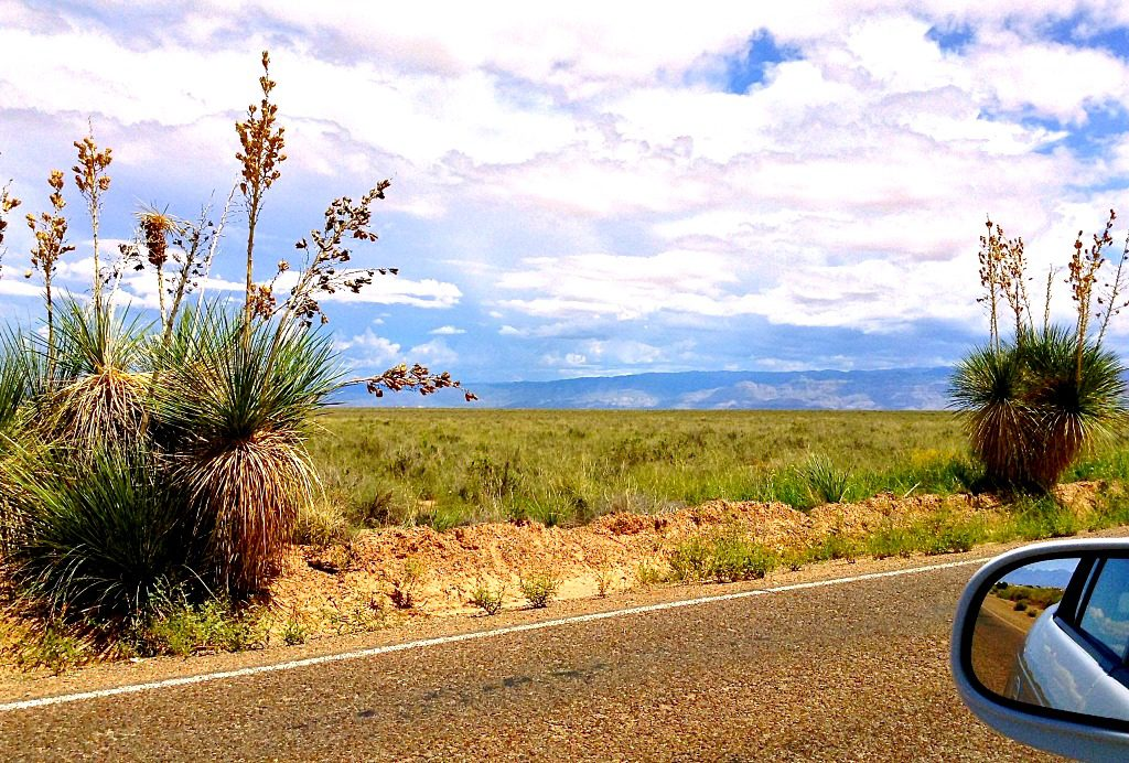 The best of Southwest solo travel is you on the road in Southern New Mexico.