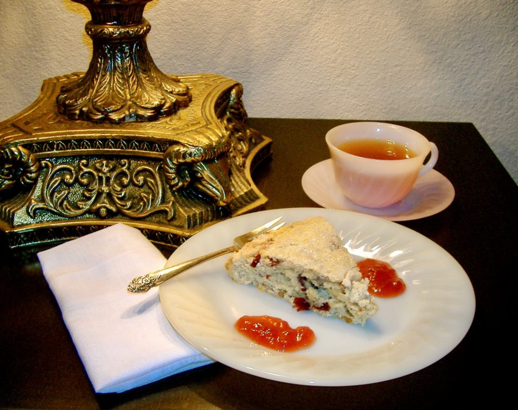 Serving yourself an elegant tea is one way to relax after an exciting day of solo travel.
