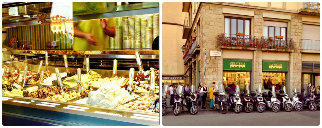 Gelateria La Carraia serves what could be the best gelato in Florence.