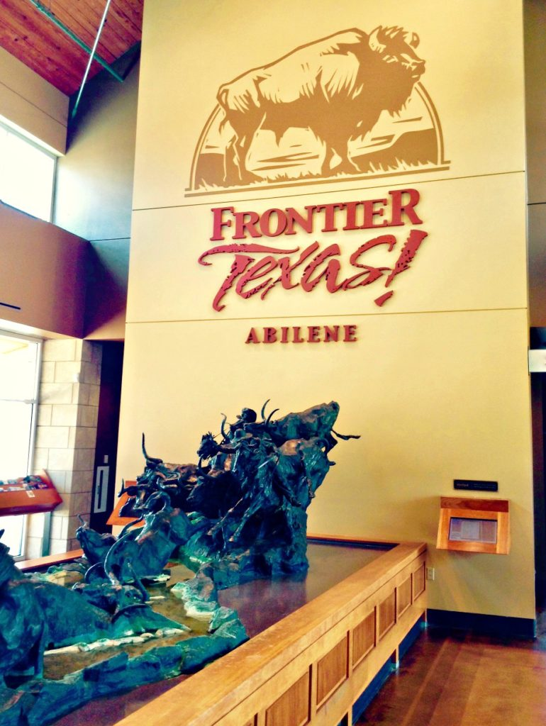 Your Texas frontier experience begins in the Frontier Texas lobby.