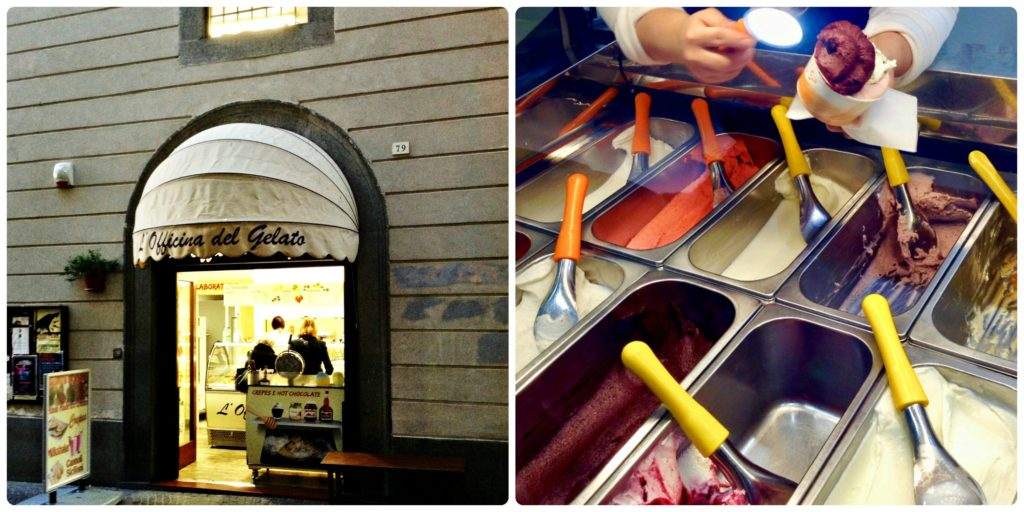 L'Officina del Gelato serves up some of the best gelato in Orvieto.