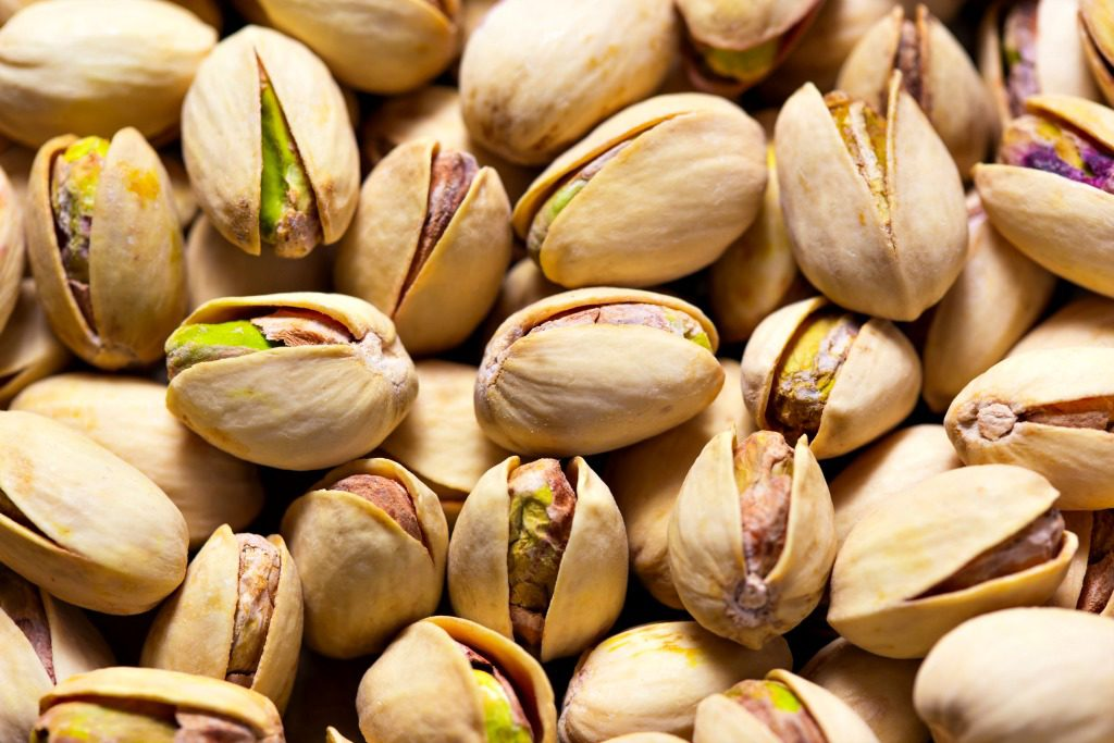Pistachios are among the best kind of nuts to pack away as New Mexico road trip essentials. Image by zozzzzo.