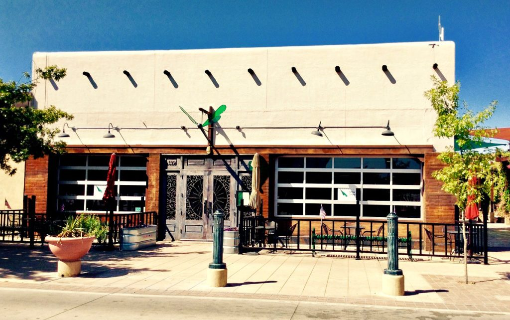 Dragonfly, a Las Cruces farm to table dining located on Main Street, across from the Plasa de Las Cruces.