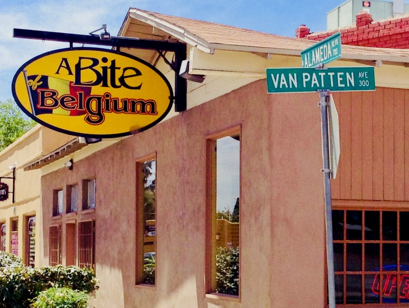 A Bite of Belgium, in Las Cruces, New Mexico, is open daily.