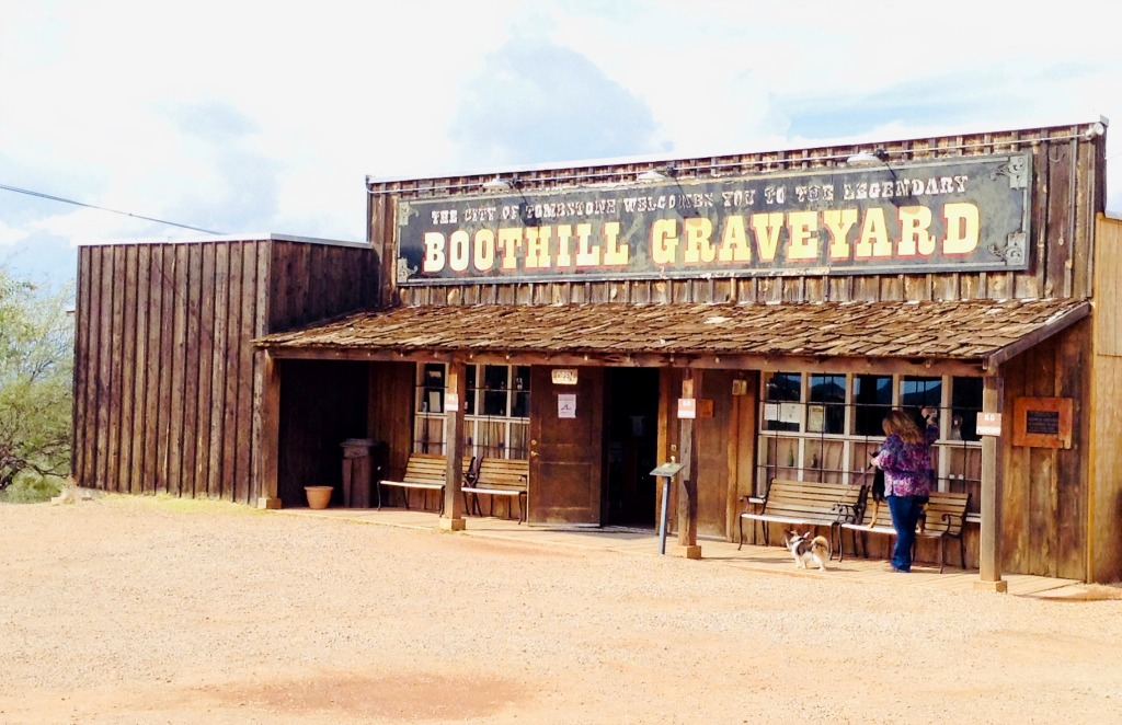 Boothill Graveyard in the historic wild west city of Tombstone, Arizona, is full of surprises as well as dry bones.