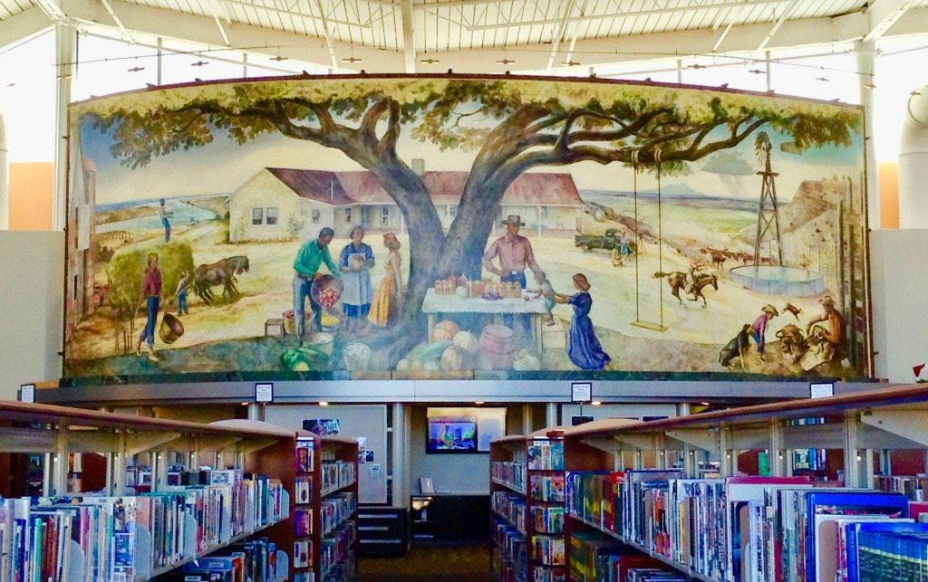 Learn more about Hurd and his mural, The Future Belongs to Those Who Prepare for It, at the Artesia Public Library.