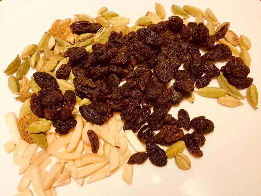 It's impossible to savor Afghanistan properly without black raisins, slivered almonds, cardamom, and cumin, all key ingredients of Qabili Palau (AKA Kabuli Palau).