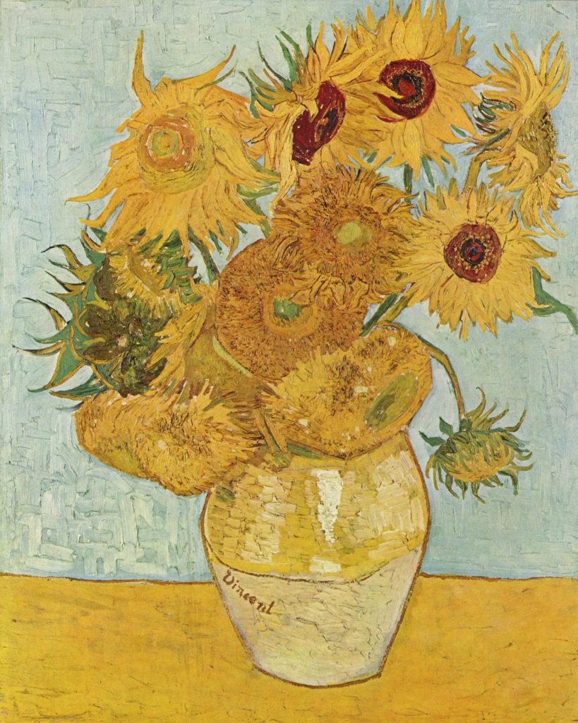 "The food quote about bouillabaisse comes courtesy of Vincent van Gogh and this 1888 painting of ""Sunflowers"" - Wikipedia Commons (Public Domain)."